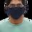 Fabric Face Cover - Navy - Corvid-19 - Coronavirus - Front View