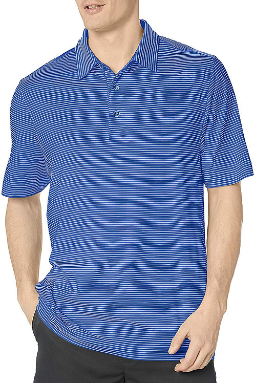 Gents Drytec Forge Pencil Stripe Polo - Chelan