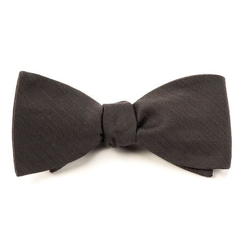 Astute Bow Tie - Charcoal