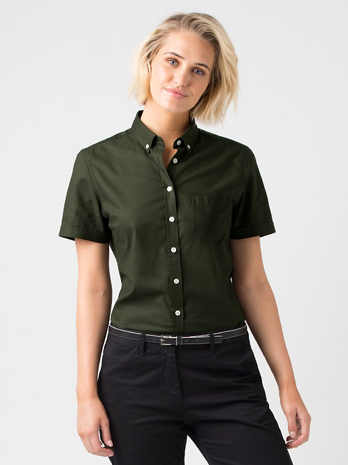 Oxford Short Sleeve - Dark Green