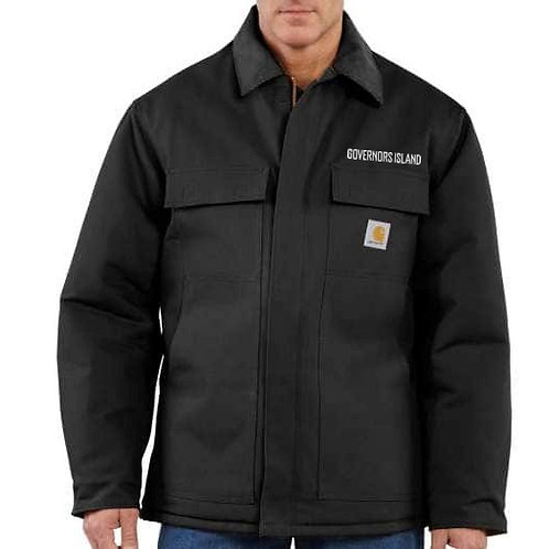 Gents Arctic Quilt Lined Coat - Black