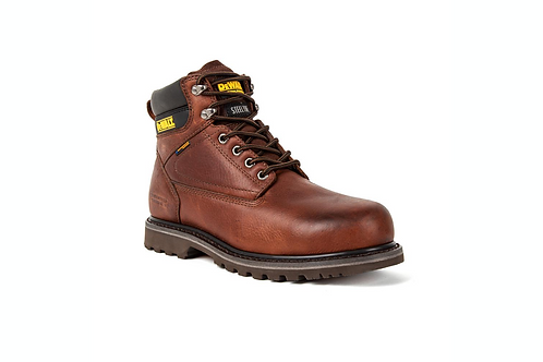 Gents Steel Toe Axle Waterproof Work Boots - Walnut Pitstop