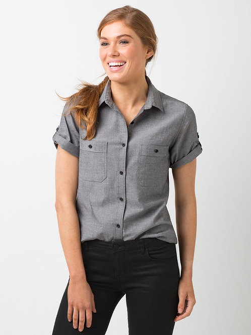 Rex Utility Short Sleeve Shirt - Charcoal