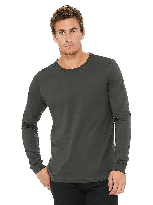 Jersey Long-Sleeve T-Shirt - Asphalt