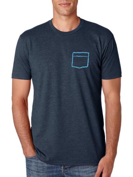 Pocket T-Shirt - Midnight Navy