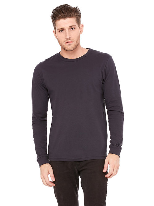 Jersey Long-Sleeve T-Shirt - Dark Grey