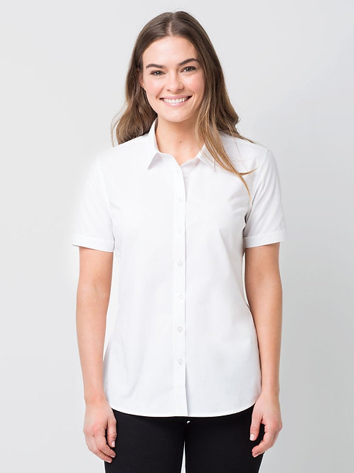 Piper Short Sleeve Shirt - White