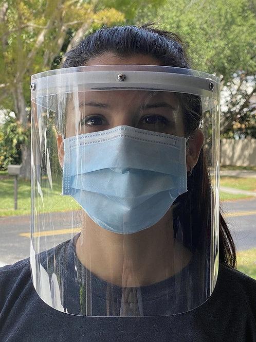 Protective Plastic Splash Face Shield