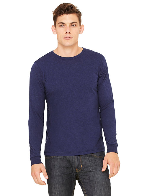 Jersey Long-Sleeve T-Shirt - Navy Triblend