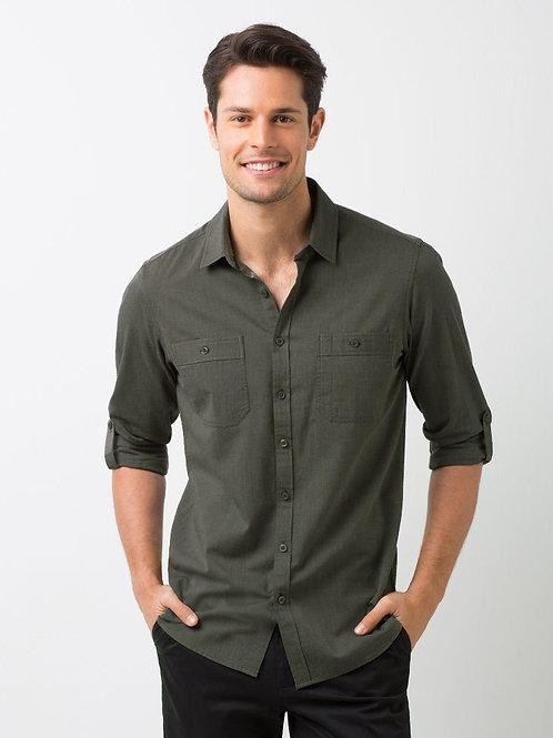 Rex Utility Long Sleeve Shirt - Olive