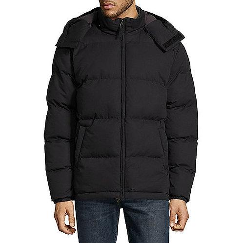 Heavyweight Puffer Jacket - Black