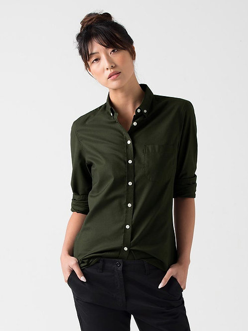 Oxford Long Sleeve - Dark Green