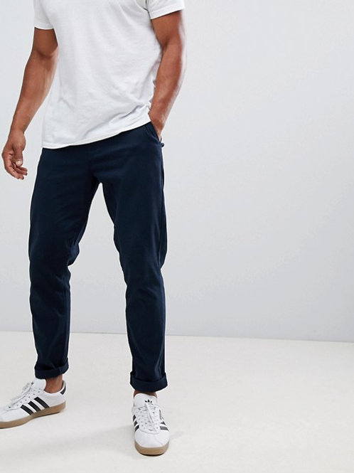 Gents Tapered Fit Chino - Navy