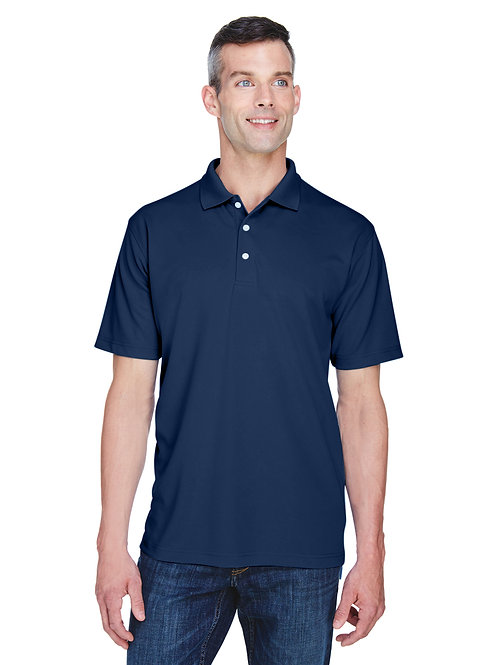 Cool & Dry Stain-Release Performance Polo - Navy