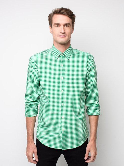 Frankie Long Sleeve Shirt - Green