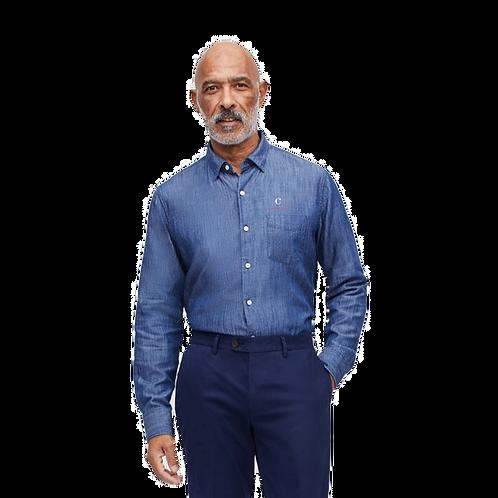 Custom Denim Shirt by Bonobos® - Navy Tencel