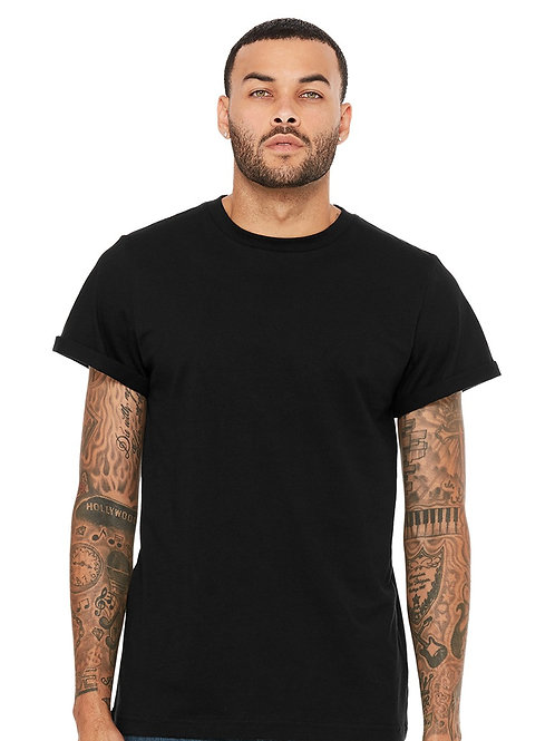 Gents' Rolled-Cuff Tee