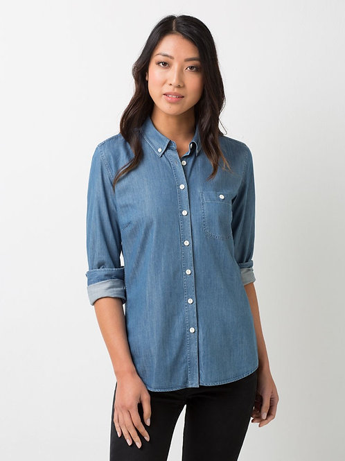 Bailey Long Sleeve Shirt - Denim