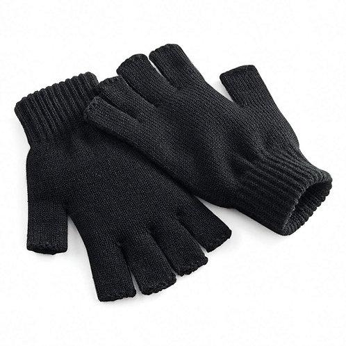 Fingerless Knit Tech Gloves