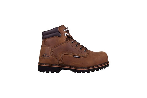 Gents Waterproof Composite Safety Toe Boot - Brown Crazyhorse