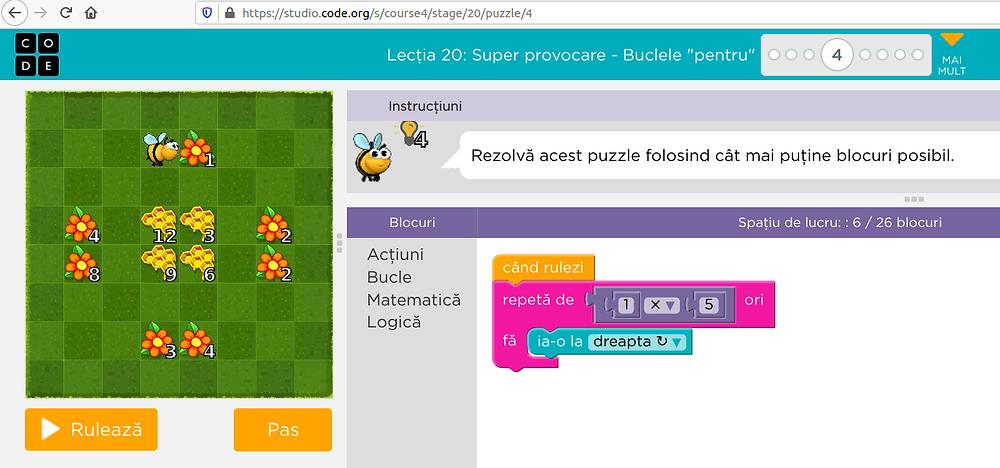code.org game screenshot