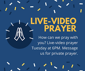 How can we pray with you today_ Live-vid