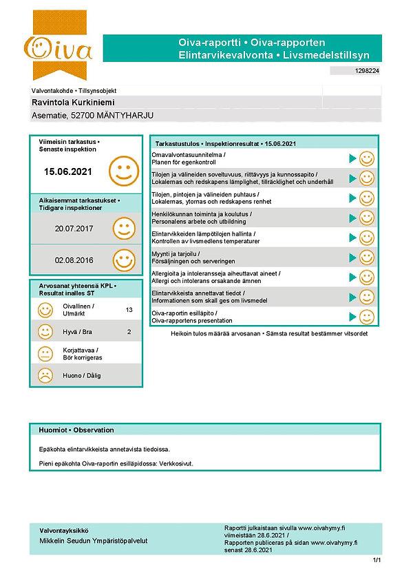 TarkastuskertomusOiva_Ravintola-Kurkinie