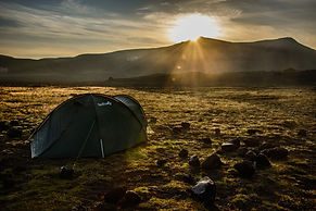 Tent in the sun