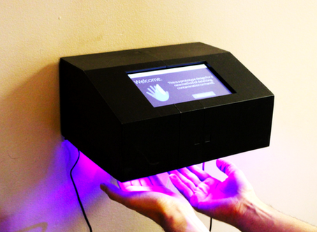 מנקה ידיים חשמלי לעובדים- PathSpot