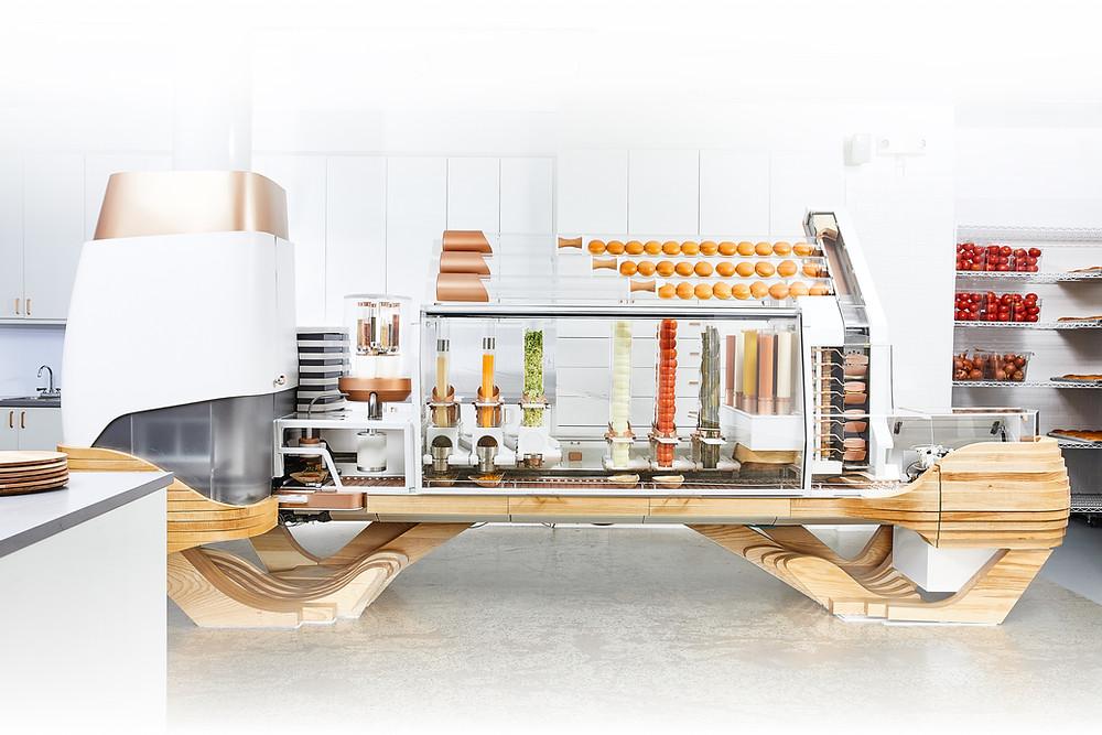 מכונת ההמבורגר האוטומטית הראשונה בעולם