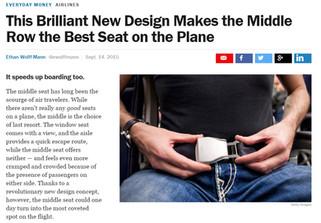 """Brilliant new design..."" - Time Magazine"