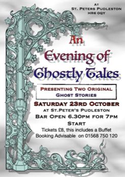 Ghostly Tales Pudleston 23rd Oct.png