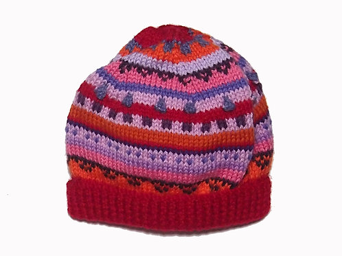 Medium - Red Beanie