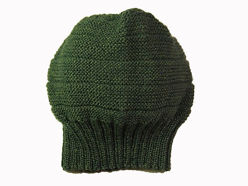 Green Slouch Beanie