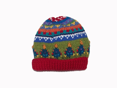 Kids Red Beanie - Small