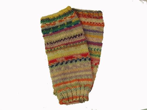 """Multi-coloured & Pastel """"Ugly"""" Fingerless Gloves"""