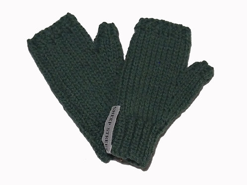 Green Steptoe Gloves