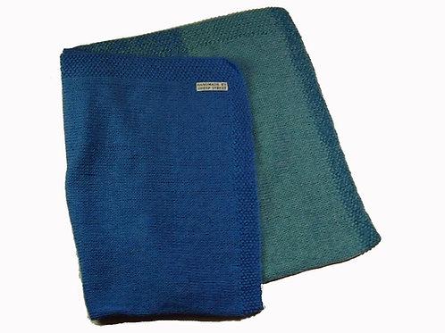 Light Blue Two Toned Blanket