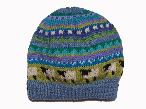 Forget-Me-Not Beanie