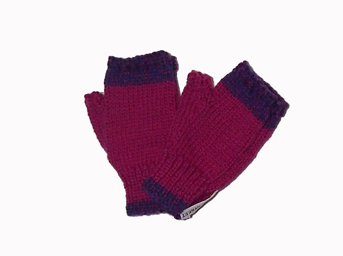 Purple and Fushcia Steptoe Gloves