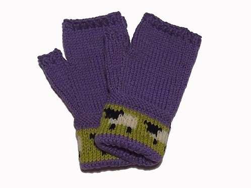 Lavender Gloves with Cuff