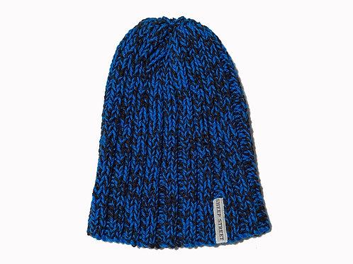 Black/Blue Cotton Hat