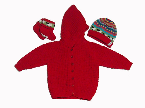 Red Baby Bundle