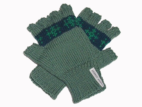 Mens Green 'Steptoe' Gloves