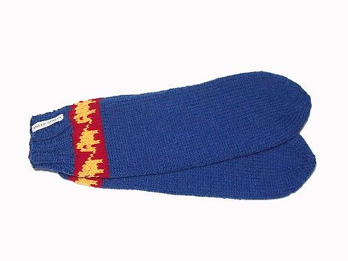 Cobalt Blue Socks