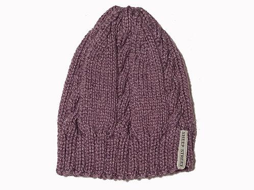 Grape cabled Cap