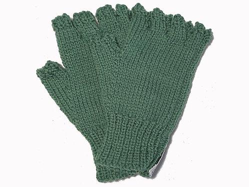 Green Steptoe Gloves