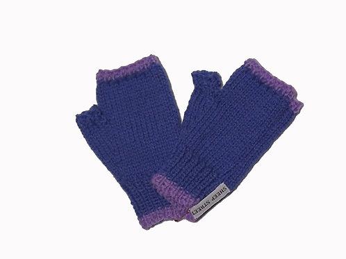 Purple Two Tone Steptoe Gloves