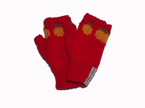 Bright Red Steptoe Gloves