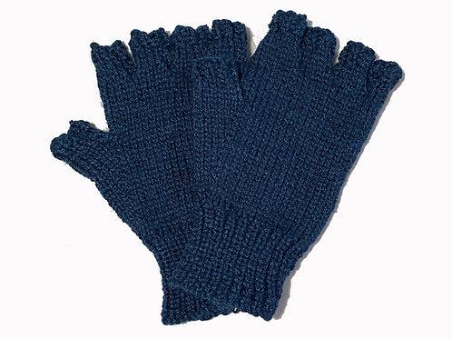 Dark Blue Steptoe Gloves